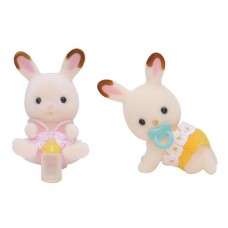 Sylvanian Families - Chocolate Rabbit Twin Babies