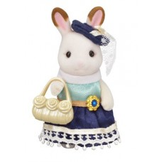 Sylvanian Families - Chocolate Rabbit - Stella - Town Series