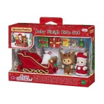 Sylvanian Families  - Christmas Baby Sleigh Ride Set LIMITED EDITION