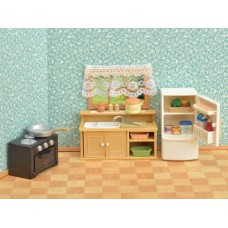 Sylvanian Families - Classic Kitchen Set - New in 2018  AVAILABLE JUNE