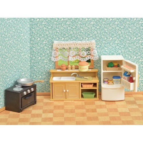 Sylvanian Families Classic Kitchen Set From Who What Why
