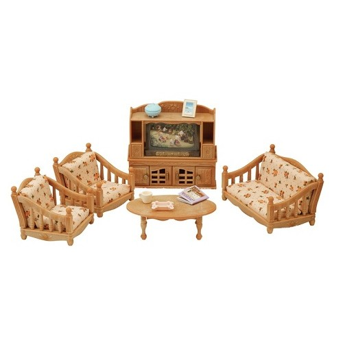 Sylvanian Families - Comfy Living Room Set - from who what why