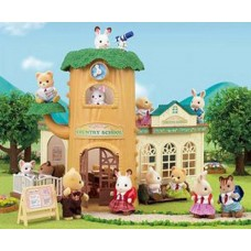 Sylvanian Families - Country Tree School  *