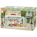 Sylvanian Families - Creamy Gelato Shop - Town Series + FREE Flower Gifts Playset