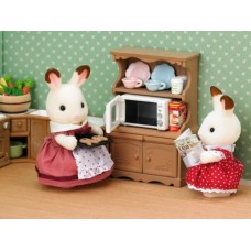 Sylvanian Families - Cupboard with Oven - New in 2018