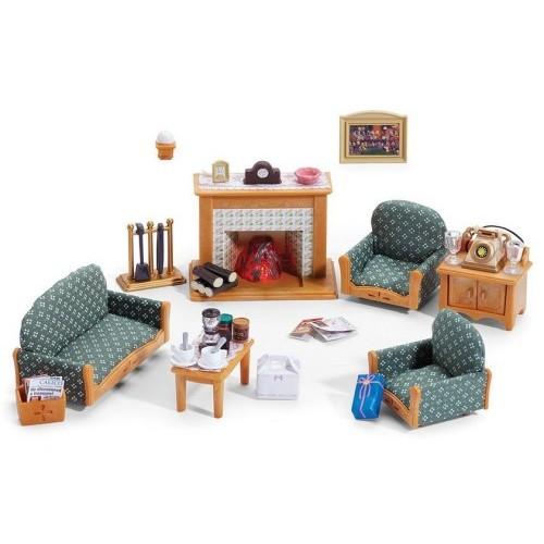... Sylvanian Families   Deluxe Living Room Set ...