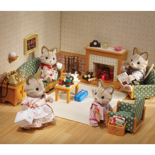 Sylvanian Families Deluxe Living Room Set From Who What Why