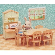 Sylvanian Families - Dining Room Set NEW in 2019