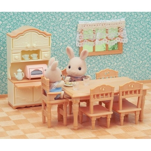 Sylvanian Families - Dining Room Set - from who what why
