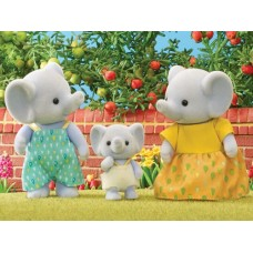 Sylvanian Families - Elephant Family 3 pce NEW in 2021 *