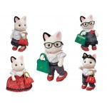 Sylvanian Families - Fashion Playset - Town Girl Tuxedo Cat NEW in 2020