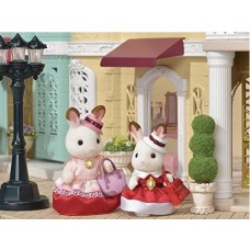 Sylvanian Families - Dress Up Duo Chocolate Rabbit - Town Series