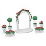 Sylvanian Families - Floral Garden Set - Town Series *