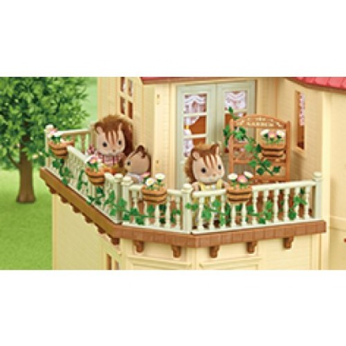 Sylvanian families garden decoration set new in