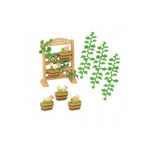 Sylvanian families garden decoration set from who what why