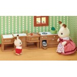 Sylvanian Families - Kitchen Stove Sink & Counter Set