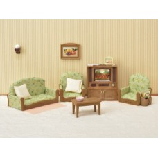 Sylvanian Families - Living Room & TV Set - New in 2018
