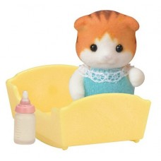 Sylvanian Families - Maple Cat Baby New in 2018