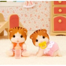 Sylvanian Families - Maple Cat Twins New in 2018