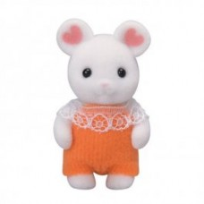 Sylvanian Families - Marshmallow White Mouse Baby New in 2018