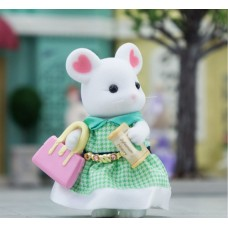 Sylvanian Families - Marshmallow Mouse Stephanie - Town Series NEW in 2019