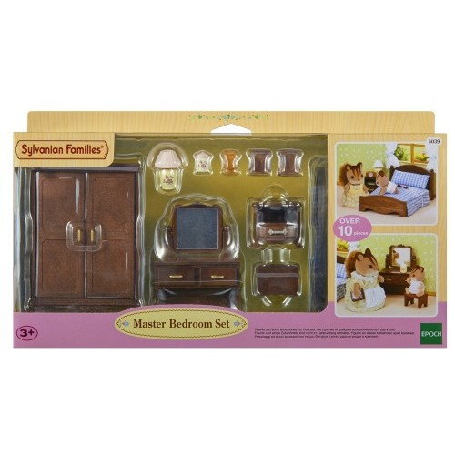 Sylvanian families master bedroom furniture set from for Sylvanian classic furniture set