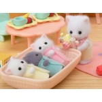 Sylvanian Families - Persian Cat Triplets NEW LIMITED EDITION