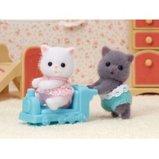Sylvanian Families - Persian Cat Twins NEW AVAILABLE JUNE