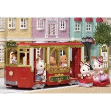 Sylvanian Families - Ride Along Tram - Town Series New in 2018