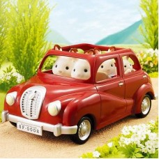 Sylvanian Families - Saloon Car Red
