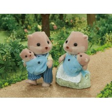 Sylvanian Families - Otter Family NEW in 2019 *