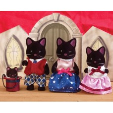 Sylvanian Families - Midnight Cat Family NEW in 2021