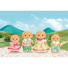 Sylvanian Families - Toy Poodle Family  NEW in 2017