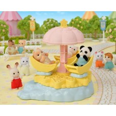 Sylvanian Families - Baby Star Carousel NEW in 2021 COMING SOON