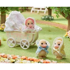 Sylvanian Families - Darling Ducklings Baby Carriage NEW 2021 COMING SOON