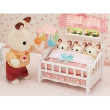 Sylvanian Families - Baby Crib with Mobile NEW in 2021