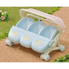 Sylvanian Families - Triplets Stroller NEW in 2021
