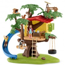 Adventure Tree House - Schleich 42408  NEW in 2018  AVAILABLE SEPTEMBER