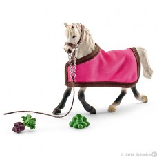 Horse - Arab Mare with Blanket - Schleich 41447