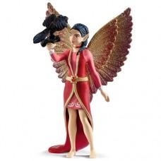 Bayala - Fairy Nuray mit raven Munyn - Schleich 70586