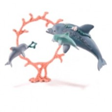 Bayala - Dolphin Mother With Young - Schleich 41463   NEW in 2018