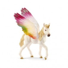Bayala - Rainbow Unicorn Winged Foal - Schleich 70577   NEW in 2018