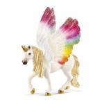 Bayala - Rainbow Unicorn Winged - Schleich 70576
