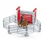Bull Riding with Cowboy - Schleich 41419