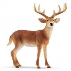 Deer - White Tailed Buck - Schleich 14818 - NEW for 2019