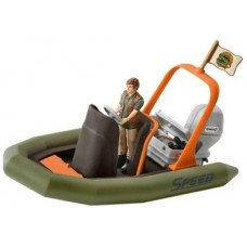 Dinghy with Ranger - Schleich 42352 *