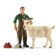 Farmer with Goat - Schleich 42375