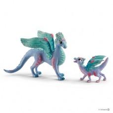 Bayala  - Flower Dragon & Baby - Schleich 70592