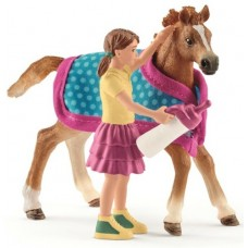 Foal with Blanket - Schleich 42361