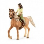 Horse Club Sarah & Mystery - Arab Mare - Schleich 42414